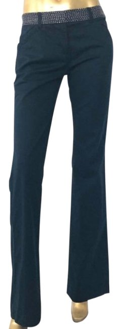 Item - Navy Blue and White By Tre Cotton Pants Size 6 (S, 28)