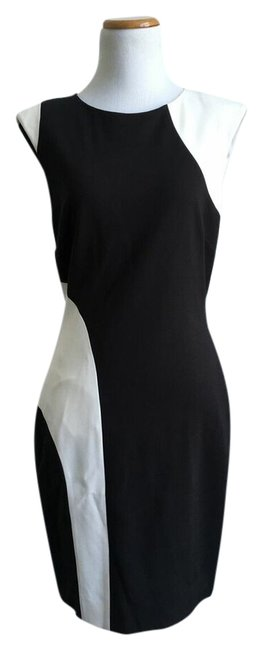 Preload https://item4.tradesy.com/images/ds-dress-dress-black-and-white-2749543-0-0.jpg?width=400&height=650