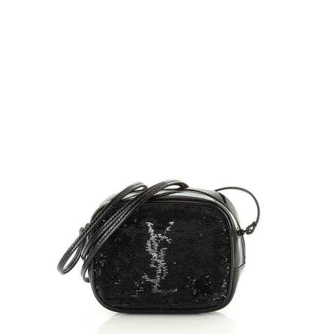 Item - Monogram Blogger Classic and Smal Black Patent Leather Sequins Cross Body Bag