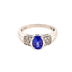 LeVian 14k LeVian Tanzanite/Diamond Ring