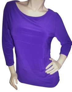Chaus Top Purple