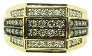 Other Men's Cluster Ring 10k Yellow Gold #22340