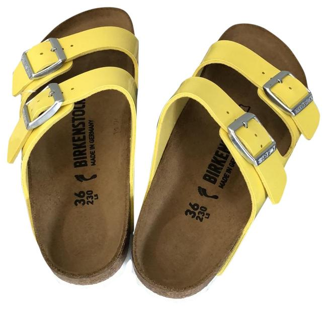 Item - Yellow Arizona Sandals Size EU 36 (Approx. US 6) Regular (M, B)