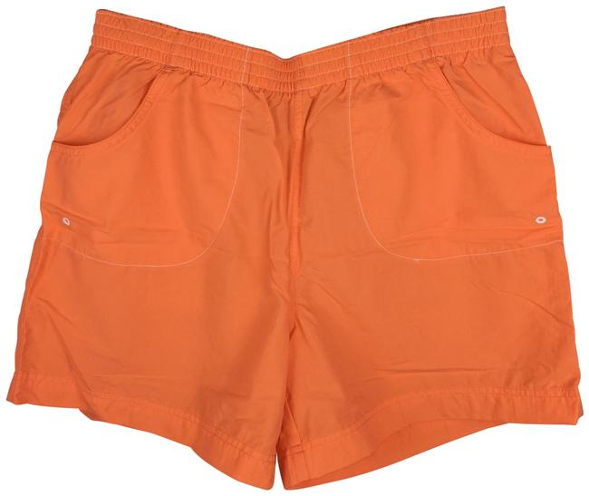 Item - Orange Nylon Outdoor Hiking Casual 0109 Al 4496 Shorts Size 6 (S, 28)