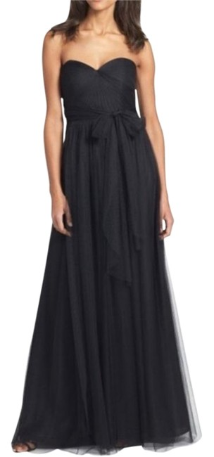 Item - Black Annabelle Tulle Convertible Long Formal Dress Size 2 (XS)