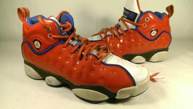 "Item - Red/Blue/White Jumpman ""University Red"" Boy's Youth Athletic Basketball 5 Shoes"