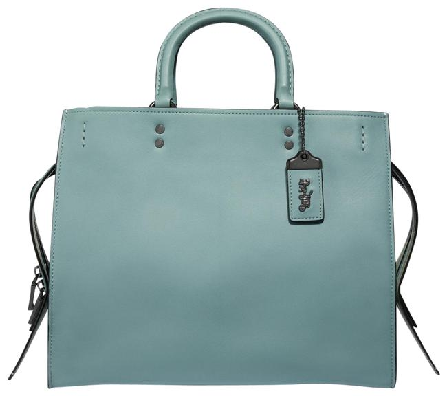 """Item - Rogue With Signature """"C"""" Chain 40730 Sage Green Leather Shoulder Bag"""