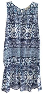 Sam & Lavi short dress Blue white on Tradesy