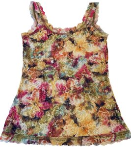 Hanky Panky Camisole Lace Top Floral