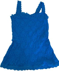 Hanky Panky Camisole Lace Top electric blue