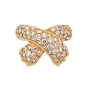 Fred Fred 18K Yellow Gold Diamond Ring