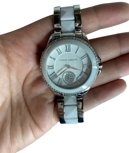 Item - White Silver Vc 5047wtsv Watch