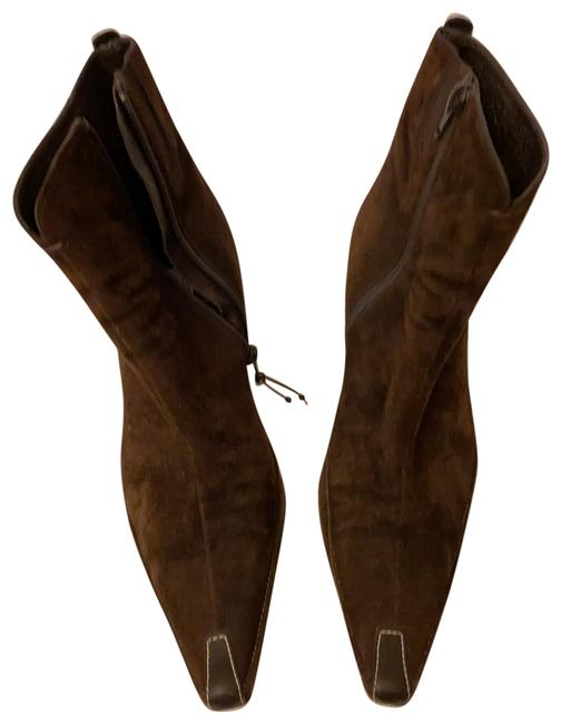 Item - Brown Suede Boots/Booties Size US 8.5 Regular (M, B)