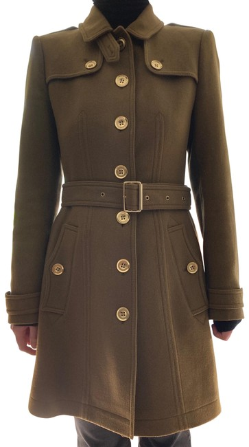 Item - Olive Green Didmoore Wool Cashmere Coat Size 6 (S)