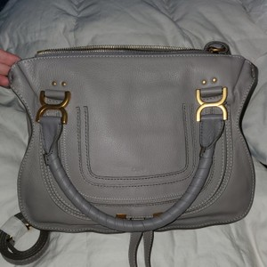 Chloé Satchel in Cashmere Gray