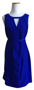 Charlie jade short dress blue A Pea In The Pod on Tradesy
