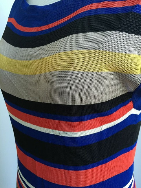 Trina Turk short dress Blue and multicolored on Tradesy