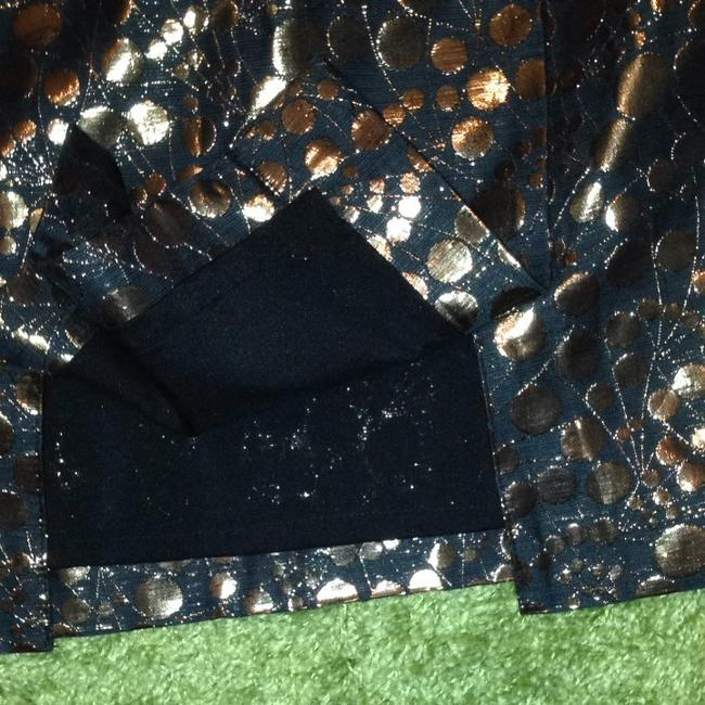 The Limited Skirt Black And Gold