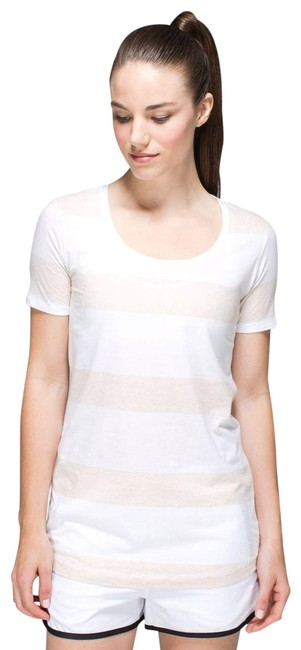 Item - White Every Yogi Activewear Top Size 4 (S)