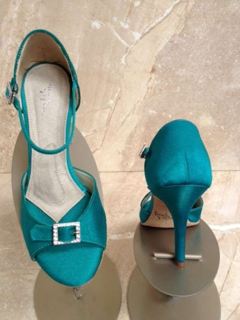 Item - Teal Eternity Hi 2011 Sandals Size US 7