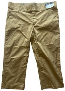 Riders by Lee Capri/Cropped Pants Khaki