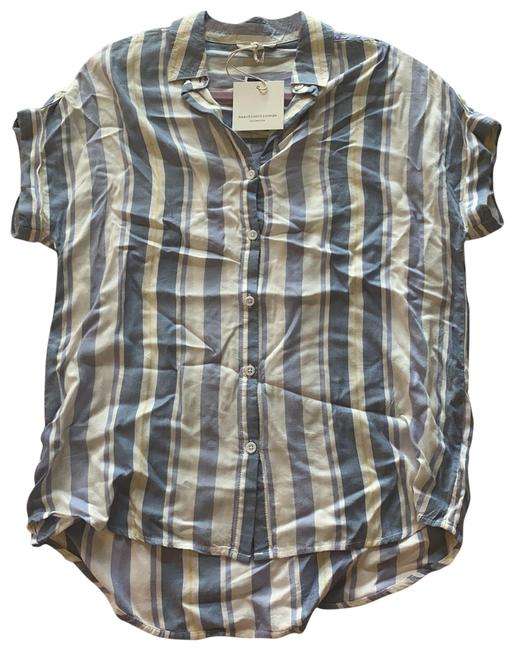 Item - Classic Sky Beach Lunch Lounge Collection Button-down Top Size 2 (XS)