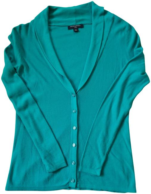 Item - Green Sweater Cardigan Size Petite 2 (XS)