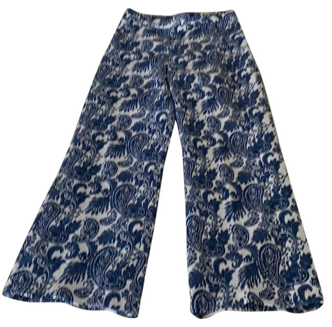 Item - Blue Embroidered Pants Size 2 (XS, 26)