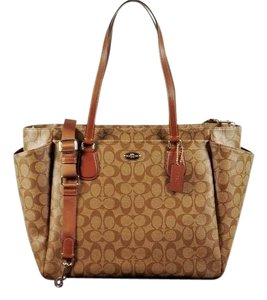 Coach Sale Sale brown Diaper Bag