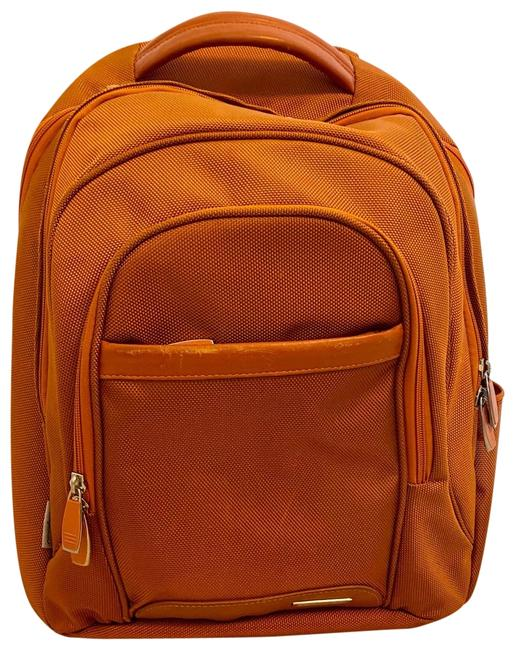 Item - Pininfarina with Laptop Compartment Orange Backpack
