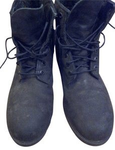 Timberland Waterproof Suede Men's Vintage Black Boots