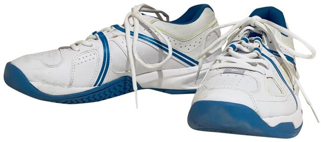 Item - White / Blue Nvision Envy Tennis Show Sneakers Size US 8.5 Regular (M, B)