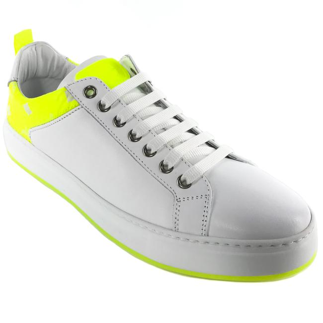 Item - White New Low Top Leather and Visetos 40 / Sneakers Size US 10 Regular (M, B)