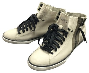 Diesel Leather 7.5 Comfy Beige Athletic