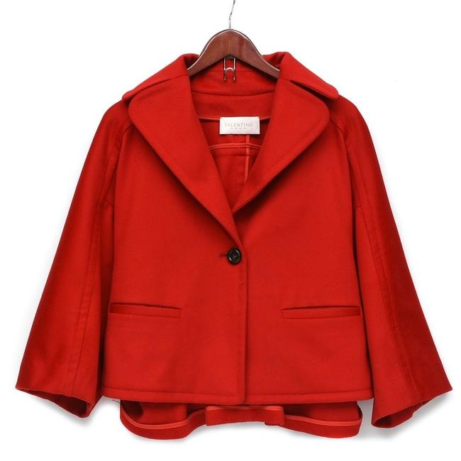 Item - Red Poncho/Cape Size 6 (S)