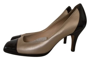 Cole Haan Beige and Brown Pumps