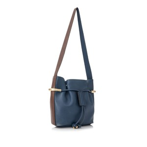 Chloe Res0fclbu002 Vintage Leather Shoulder Bag