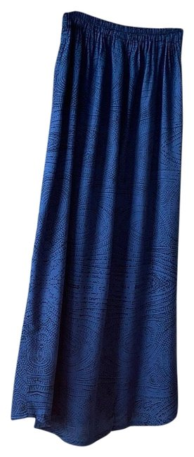 Item - Blue and Black Double Lightweight Skirt Size 6 (S, 28)