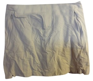 Columbia Brown Stretchy Cute Summer Hiking Versatile Comfortable Skort Light Brown