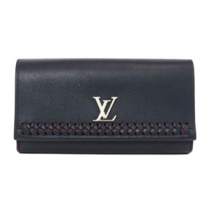 Louis Vuitton Louis Vuitton M64335 Lock Me II Wallet Calf Ladies LOUIS VUITTON