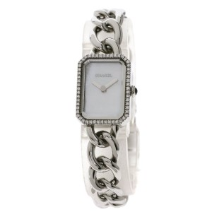 Chanel Chanel H3253 Premiere Watch Stainless Steel SS Diamond Ladies CHANEL