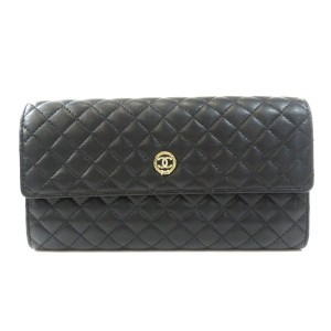 Chanel Chanel Coco Mark Purse Calf Ladies CHANEL
