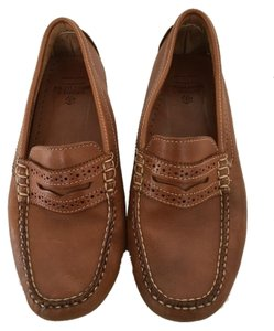 Brooks Brothers Loafers Boat Brown Flats