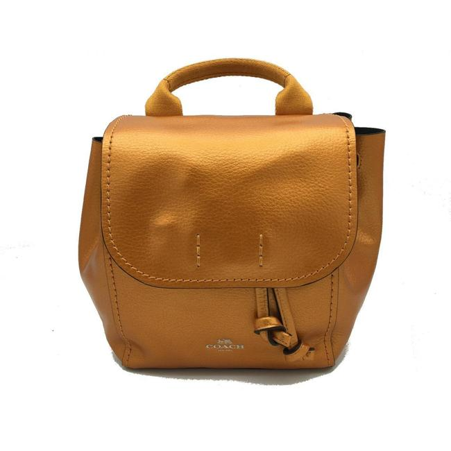 Item - Rucksack F16605 Brown / Orange Leather Backpack