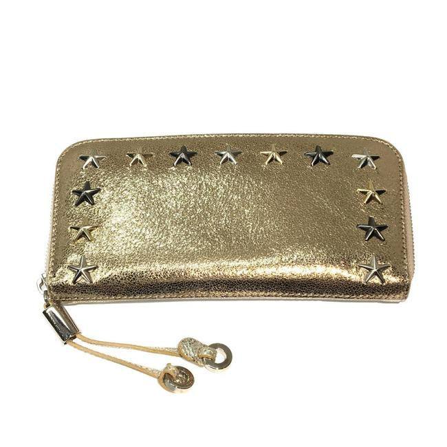 Item - Gold / Silver Purse Leather Wallet