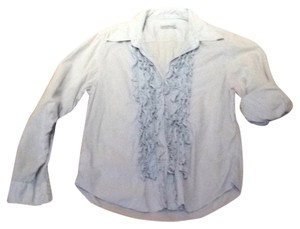 Migual ibars Button Down Shirt Sky Blue
