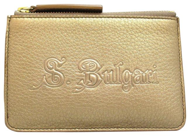 Item - Gold Coin Case Sotirio Leather Wallet