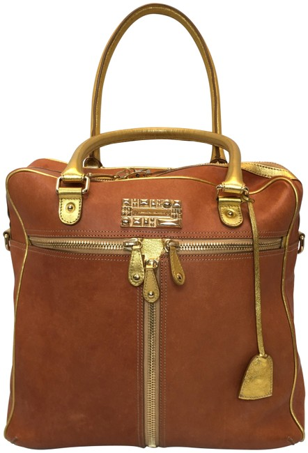 Item - Large Tan Leather Tote