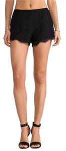 Keepsake the Label Lace Lace Dress Shorts Black and Crystal