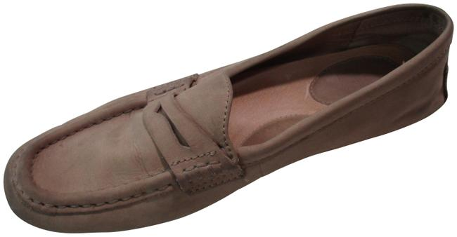 Item - Tan Penny Loafer Mocassin Slip Ons Flats Size US 8 Regular (M, B)